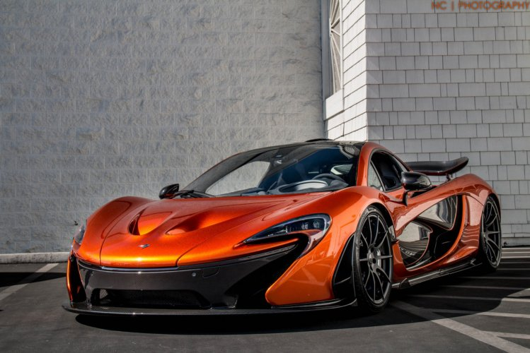 Volcano Orange Mclaren P1 Epic Sounds On The Track