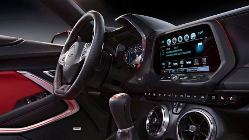2016 Chevy Camaro Ss Interior And Exterior Design