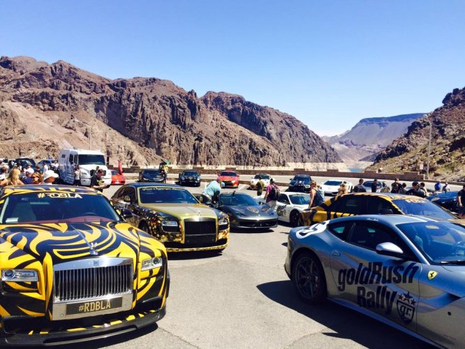Goldrush Rally 7 Descends On Las Vegas From San Diego