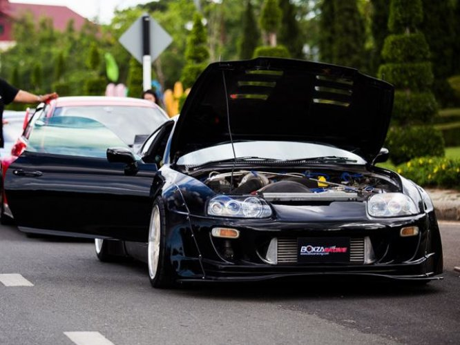 Local Toyota Dealers >> 800-HP Rocket Bunny Toyota Supra Is A JDM Monster!