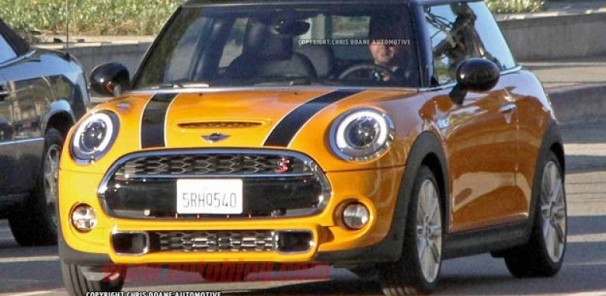 2015 Mini Cooper uncovered for the first time
