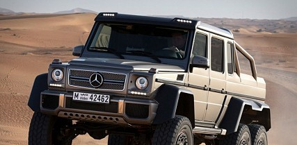 Mercedes Benz G63 AMG 6X6 Off-Roader