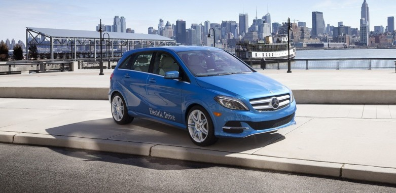 Mercedes Benz B-Class EV to take on BMW's i3
