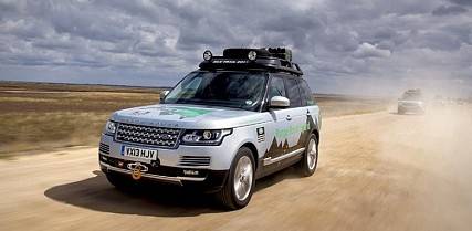 Range Rover Hybrid Drives From London to Mumbai