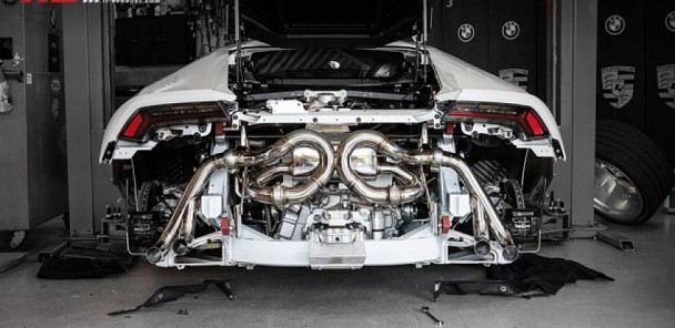 Huracan Gets New Exhaust from Frequency Intelligent