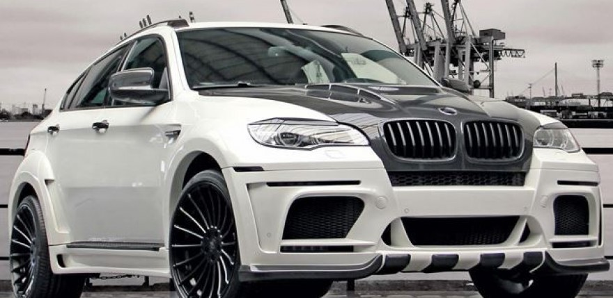 DD Customs Glorifies the BMW X6 M