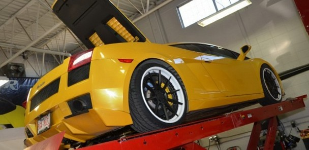 Twin Turbo Lamborghini Gallardo Hits 830HP