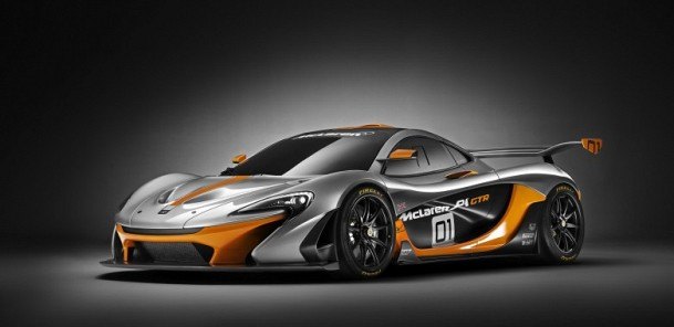 Inside the McLaren P1 GTR for the First Time
