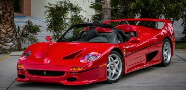 CarVerse Epic Find of the Day: Ferrari F50