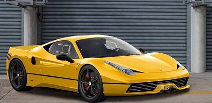 Ferrari 458 GTO Re-Imagined