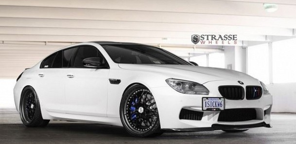 Strasse Goes Intergalactic With the Storm Trooper BMW M6 Gran Coupe