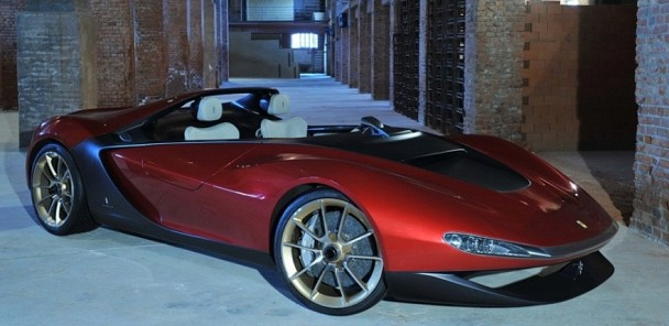 Extremely Limited Ferrari Sergio Announced