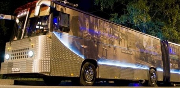 Russian Bus Gets Converted Into Rolling Strip Club