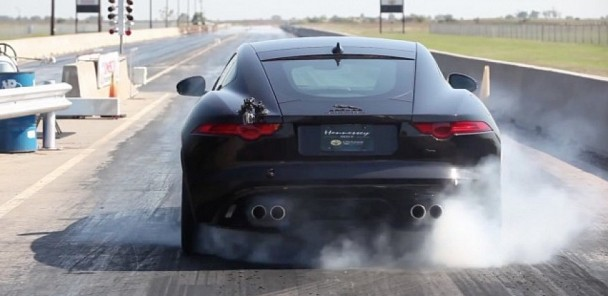 Hennessey Juices the Jaguar F-Type