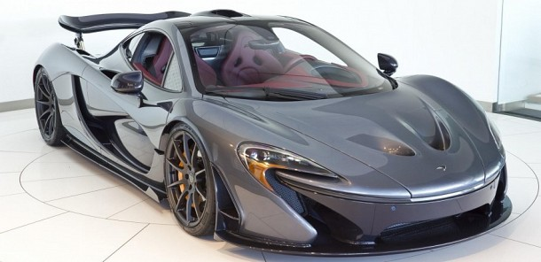 Gorgeous McLaren P1 in Flintgrau Metallic