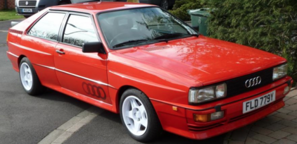 CarVerse Epic Find of the Day:1983 Audi Quattro