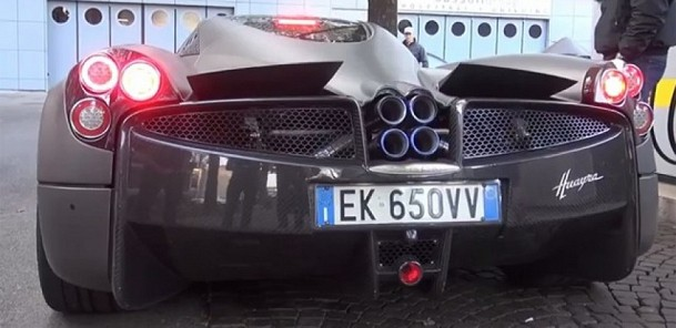 Pagani Huayra Custom Exhaust