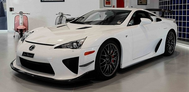 CarVerse Epic Find of the Day: Lexus LFA Nurburgring Edition