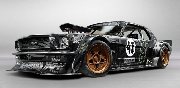 Ken Block's 845 Horsepower All-Wheel Drive Ford Mustang