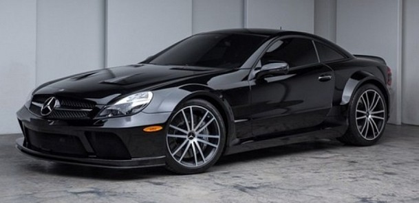 CarVerse Epic Find of the Day: 2009 Mercedes SL65 AMG Black