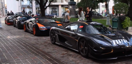 Dragon Path Rally Attracts Koenigsegg One:1 and Three Veyrons