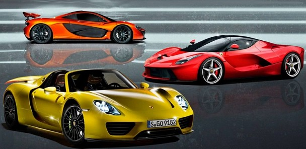 Power Play: Ferrari LaFerrari, McLaren P1, or Porsche 918