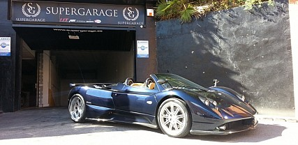 CarVerse Epic Find of the Day: Pagani Roadster F