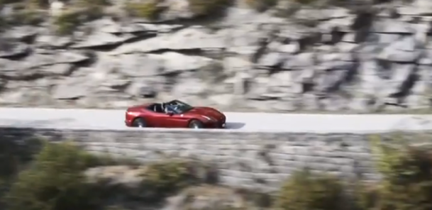 Ferrari Test Driver De Simone Reviews California T