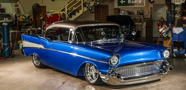 Bodie Stroud Industries Enhanced '57 Bel Air