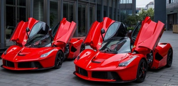 Double the Trouble: Two Ferrari LaFerrari's Spotted in Shanghai