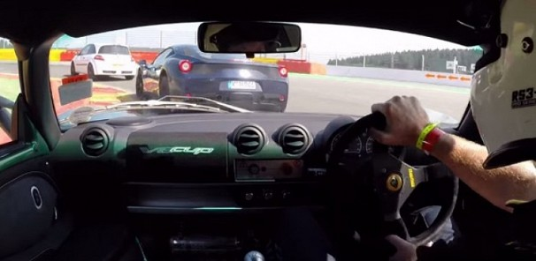 Lotus Exige V6 Cup Takes on Ferrari 458 Speciale at Spa