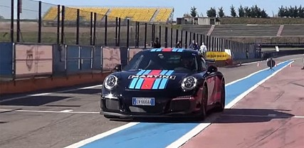 Porsche GT3 Gets Spanked Around Track