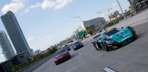 Maserati MC12 Corsa Hits the Streets of Miami