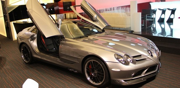CarVerse Epic Find of the Day: Mercedes SLR 722