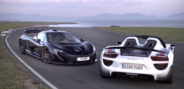 McLaren P1 v Porsche 918 Spyder: Which is fastest?