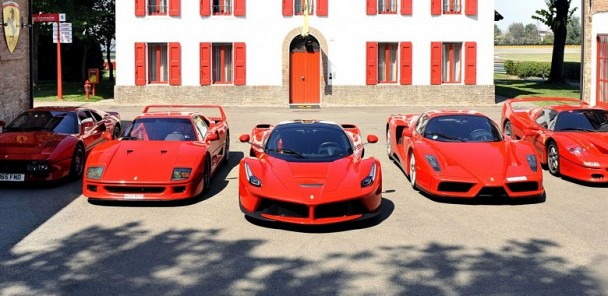 Top 5 Greatest Ferrari's...Ever