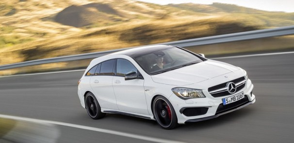 Wagon Lovers Rejoice! Meet The Mercedes-Benz CLA45 AMG Shooting Brake