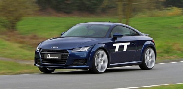 B&B Gets the 2015 Audi TT Ready for Action