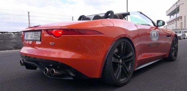 Jaguar F-TYPE S V8 Convertible - Brutal Revs & Lovely Accelerations!