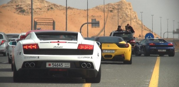 Desert Run - Epic Supercar Adventure to Oman