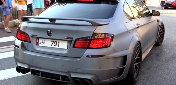 BMW M5 F10 Hamann w/ Akrapovic Exhaust in London