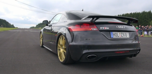 Audi TT-RS Coupe HGR Stage III Clubsport - Dogfight Drag Racing