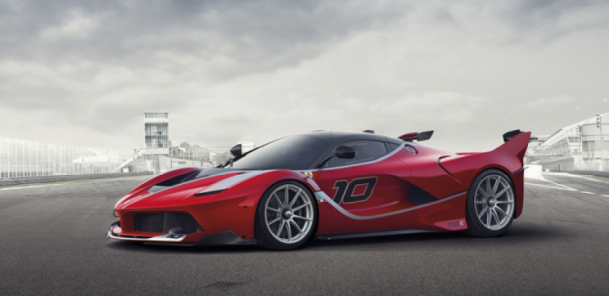Ferrari Says FXX K the Competition