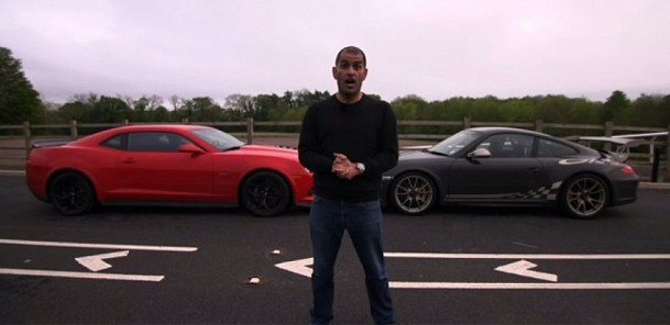 Chris Harris Compares Porsche GT3 RS With Camaro Z/28
