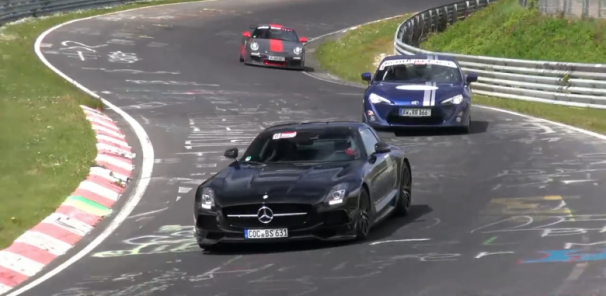 Mercedes-Benz SLS AMG Black Series Ruling the Ring