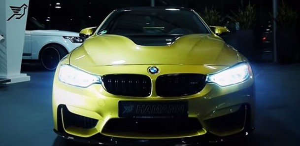 Hamann Releases New BMW M4 Video