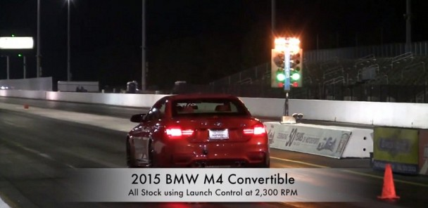 BMW M4 Convertible Stock Traps 12.25-Sec Quarter-Mile
