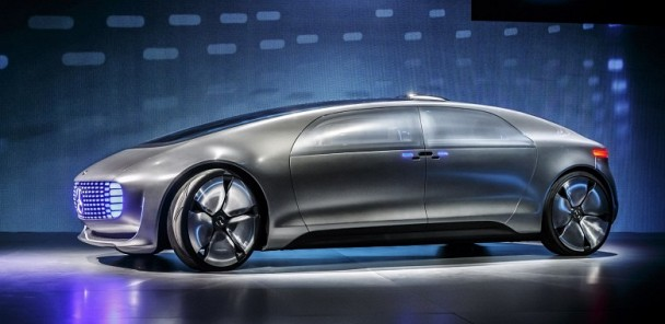 Mercedes F015 Luxury in Motion is a Look Into Our Future