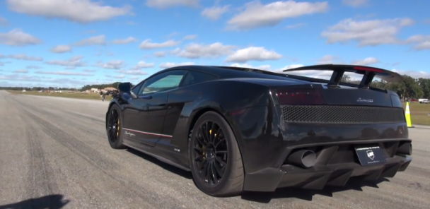 2000+HP Lamborghini Gallardo Smashes the 1/2 mile World Record