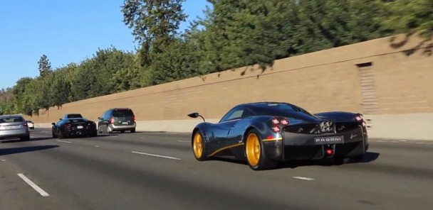 1/1 Blue Carbon Pagani Huayra 730S Hits the Streets